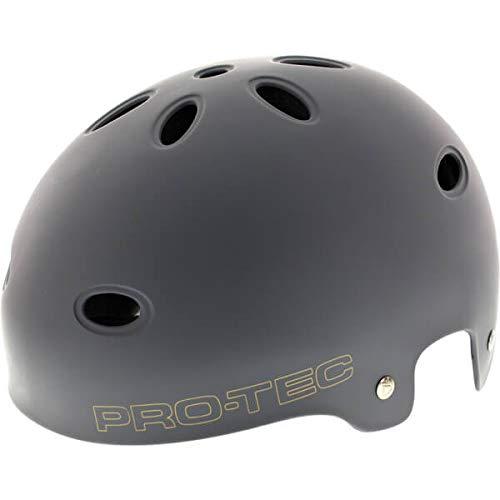 PROTEC Original Pro-tec B2 Skate SXP Matte Skateboard Helmet, Grey, ()