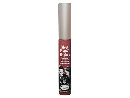 theBalm Meet Matt(e) Hughes Long Lasting Liquid Lipstick, Trustworthy, 0.25 fl. oz.