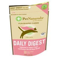 Pet Naturals of Vermont 070C753.030 Daily Digest for Cats -30 count-Pack of -6, My Pet Supplies