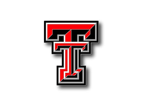 NCAA Texas Tech Red Raiders Logo Pin (Pin Tech Lapel)