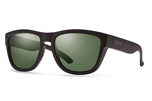 Smith Optics Clark Chroma Pop Polarized Sunglasses (Gray Green Lens), Matte (Polarized Gray Green)