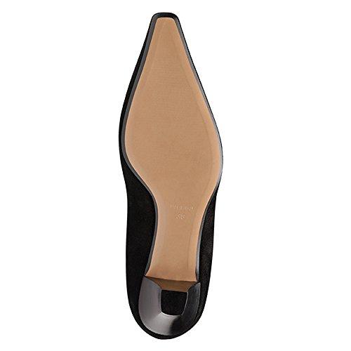 Tacones Shoes Mujer Negro negro Pump Evita ERpTcqq