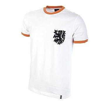 COPA Football - Camiseta Retro Holanda 2º equipación años 1970 (M)