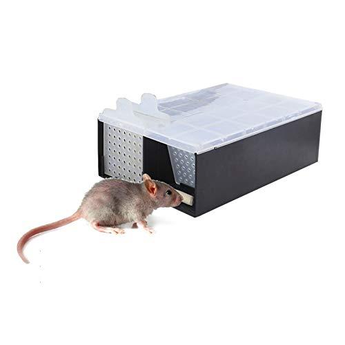 KathShop Home Mouse Trap Garden Humane Rat Trap Cage Mice Rodent Repeller Catch Bait Hamster Rat Trap