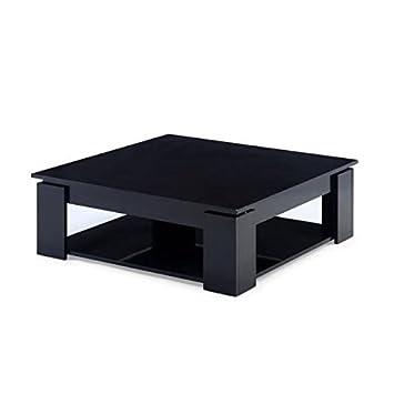 Manhattan Noir Carrée Table Maison BrillantCuisineamp; Basse ynvNOm8w0