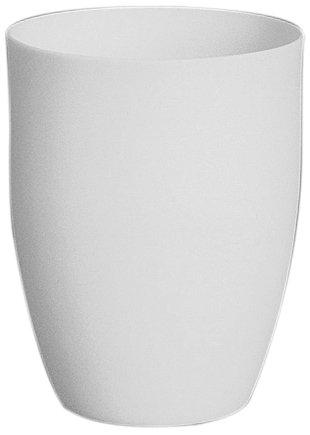 CoorsTek 65506 High-Alumina High Form Crucible, 250mL Capacity, 76mm OD, 93mm Height