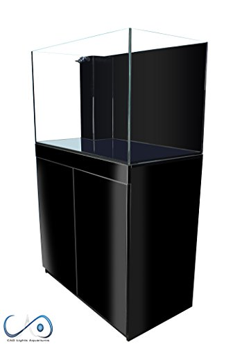 CAD Lights 68 Gallon Versa Series Aquarium(Total 98 Gallon)-Black Cabinet by CAD Lights Versa