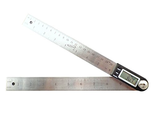 iGaging 11'' Electronic Digital Protractor Goniometer Angle Finder Miter Gauge by Oregon Tools