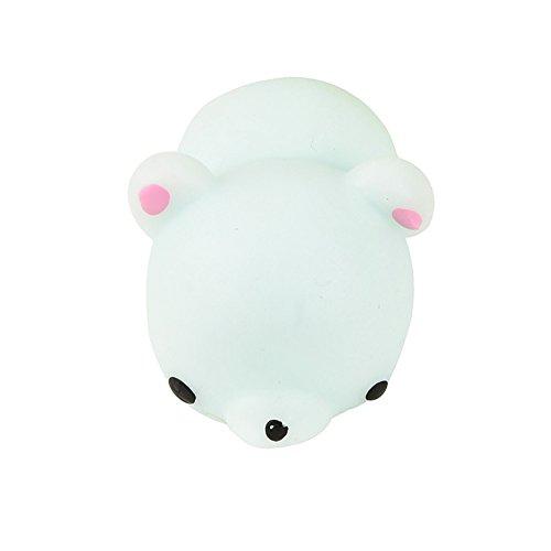 Sagton Cute Mochi Squishy Panda Squeeze Healing Fun Kids Kawaii Stress Reliever Toy Decor (J)