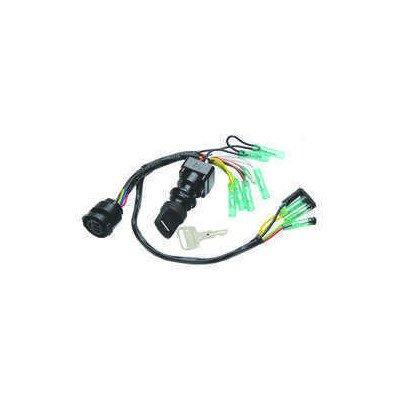 Sierra International MP51050 Dual Engine Push to Choke Ignition Switch for Yamaha Dash Mount 2 and 4-Stroke O/B & Replaces 6K1-82510-06-00 by Sierra International