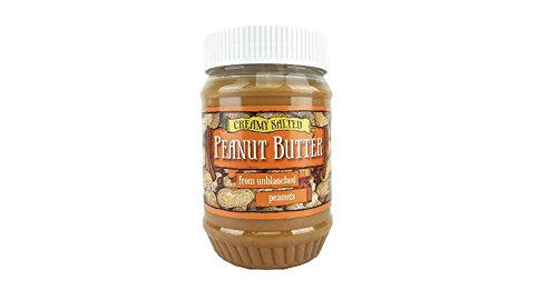 Trader Joe's Creamy Salted Peanut Butter From Unblanched Peanuts (Peanut Butter With Flax And Chia Seeds)