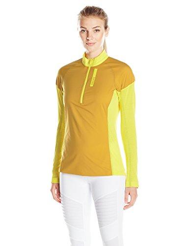 adidas Outdoor Women's Terrex Stockhorn Fleece Jacket, Bright Yellow, Medium