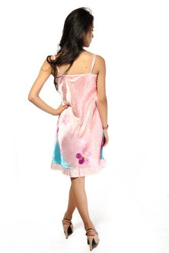 Zavetti - Camisola - para mujer Multicolor Blue Pink talla única