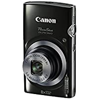 Canon PowerShot ELPH 160 20.0 MP Digital Camera with 8X optical zoom, 720P Video and 2.7 Inch LCD (Black)(Certified Refurbished)