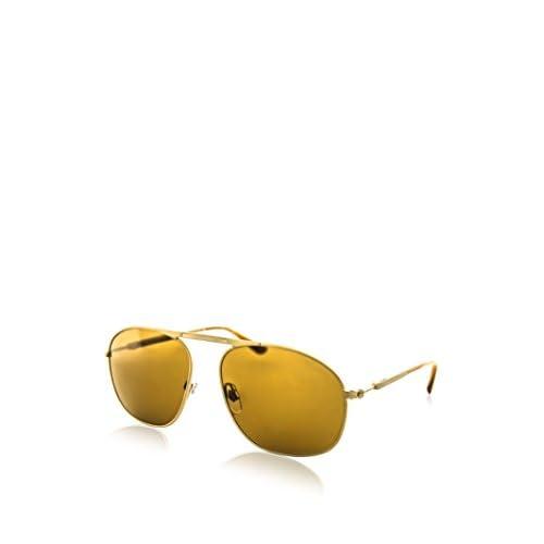2d287744474 cheap Giorgio Armani Mens Sunglasses Gold Matte Brown Metal - Non-Polarized  - 56mm