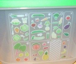 Tupperware Fridgesmart Medium Deep 16 Cup Veggie Container