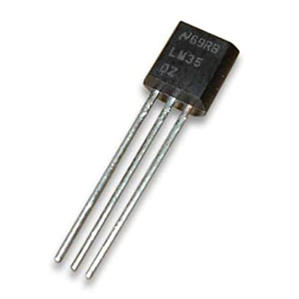 LM35DZ LM35 sensor de temperatura 0... 100 °C to92 (001)