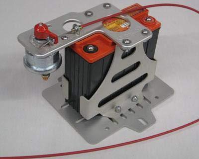 Lightweight Battery Mount Kit - PC680 - Switch Mount by Rennline