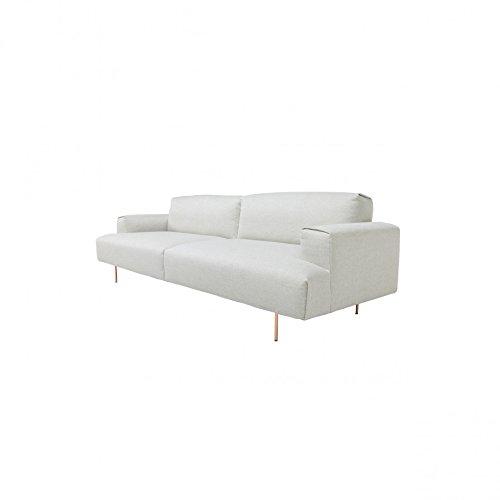 Sancal Tip Toe sofá de 3 plazas - Beige: Amazon.es: Hogar