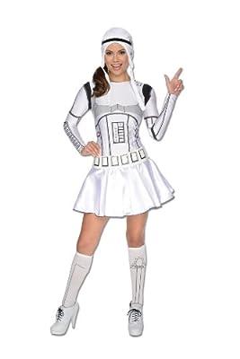 Secret Wishes Star Wars Female Storm Trooper Costume
