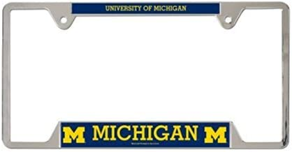 NCAA Official University of Michigan Wolverines Metal License Plate Frame