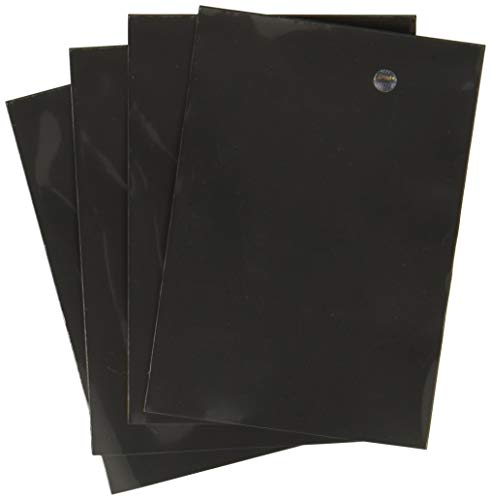 Ultra Pro Card Supplies Deck Protector Sleeves, Black, 180 Count ()