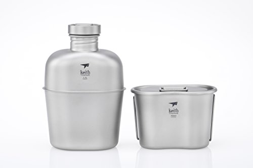 Keith Titanium Ti3060 Canteen Mess Kit