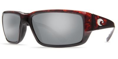 Costa Del Mar Fantail Sunglasses, Tortoise, Silver Mirror 580 Glass - Sunglasses Stream
