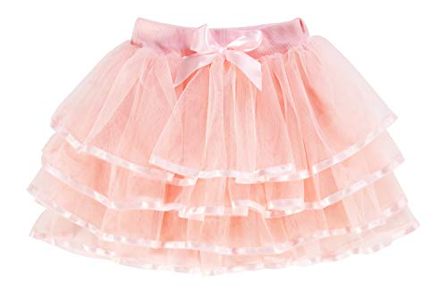 storeofbaby Baby Girl Tutus for Toddlers 4 Layers Tulle Halloween Dress Up Skirt -