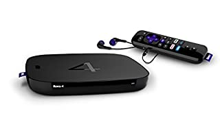 Roku 4 | HD and 4K UHD Streaming Media Player with Enhanced Remote (Voice Search, Lost Remote Finder, and Headphone), Quad-Core Processor, Dual-Band Wi-Fi, Ethernet, and USB Port (B015YF5YIS) | Amazon price tracker / tracking, Amazon price history charts, Amazon price watches, Amazon price drop alerts