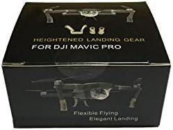 Kingwon Landing Legs Extender for DJI Mavic Pro Extended Heightened Landing Gear Protector Guard Accessories,Grey