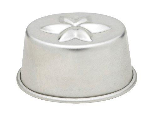 Gobel 2480-4 Aspic Gelatin Molds, Set of 4, Tinned Steel