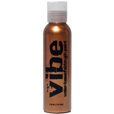 1oz Metallic Bronze Vibe Face Paint Water Based Airbrush Makeup - Vibe Bronzer