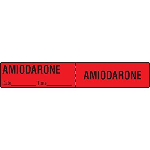 Medication Tubing Labels Iv (IV Tubing Medication Label Amiodarone)