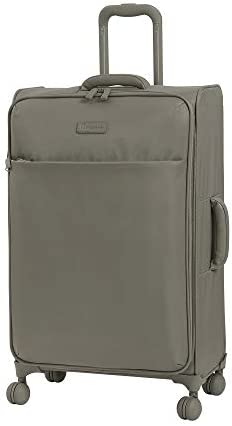 it luggage 28 Lustrous Softside Expandable Spinner, Cobblestone