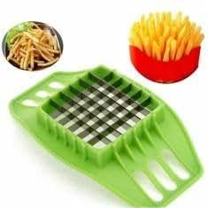 Fries Potato Chip Slicer Fruit Vegetable Chopper Cutter Tool