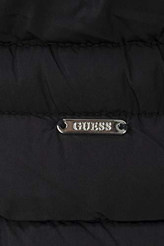 Wap20 Jacket Guess Piumino Cappuccio Nero W84l35 Corto Con Lorelie Donna pZwYwIOSq