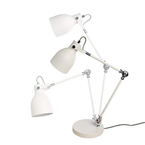 Lava Chrome Lamp (Wild Wood Task Lamp Arctic White)
