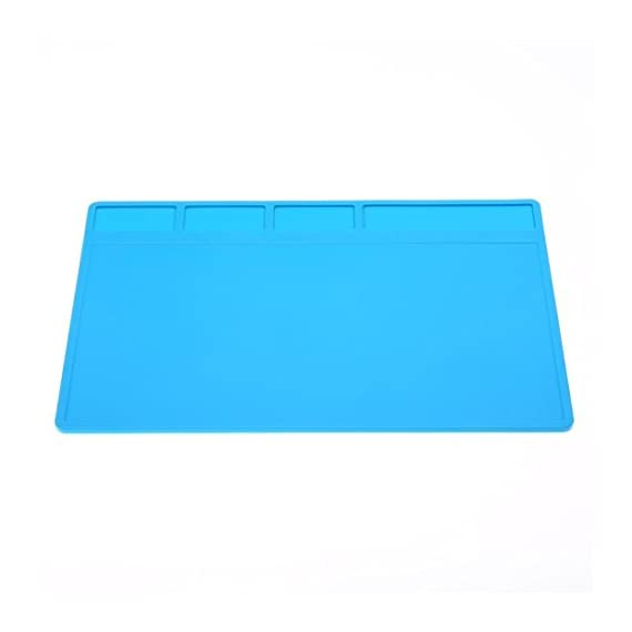 GoodLock Heat Resistant Thermal Insulation Pad Silicone Mat Soldering Repair Maintenance Platform Blue 4 ❤️Expedited Shipping:3-7 Days.🐾 Standard shipping:7-15 Days.🐾 Within 24 Hours Shipping Out.💕 macaron silicone mat for baking baby crafting hair tools counter dog bowls mats sheets glue gun makeup brushes fondant toaster oven toddler table transparent trivet thin textured to cook on thick nail art ateco amazon basics and rolling pin ❤️High-temperature splash-proof performance is stronger than the ordinary insulation pad 1.5 times. 💕 antistatic bowl anti skid soldering stove soap small square solder slim set of sink plate sheet 20x13.5 dab kit black storage long high temp silpat gray cute x holes honeycomb pet food mini circle kids rig purple 12x18 3mm 12x16 with measurements ❤️Corrosion protection, repair insulation, insulation brazing. 💕 wood grain wax dough mate gourd desk 8x8 kitchen raised edge holder cutting eating yellow cat pastry magnetic grill waterproof jumbo phone tupperware woodworking craft gripper rack pot half resin rolls inches round lay cell rockler grip grid dish xxl