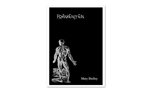 Frankenstein - Classic Book Art Set 1-24x16 Matte Poster Print Wall Art