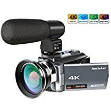 Review 4K Camcorder,Ansteker 48MP 30FPS
