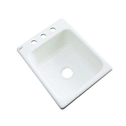 Thermocast Crisfield High Gloss White Cast Acrylic Prep Sink 26300