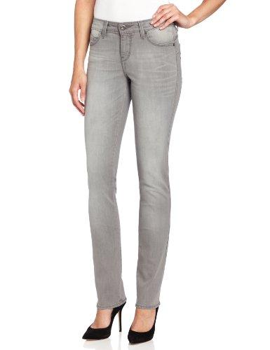 Levi's Women's Mid Rise Flatters and Flaunts Skinny Jean, Ash Grey, 12 Medium