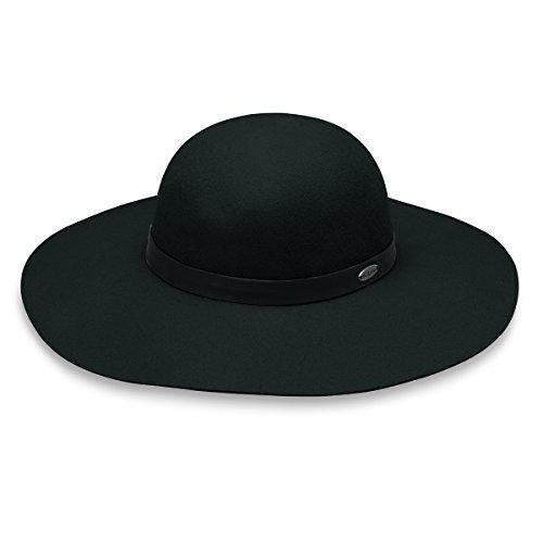 wallaroo Women's elsbeth Felt Sun Hat - UPF 50+ - Adjustable Fit - Australian Sunglass Designer