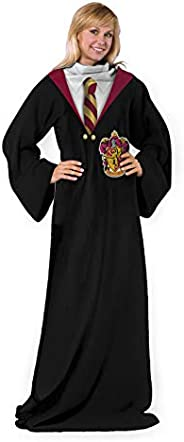 Harry Potter Gryffindor Rules Adult Soft Throw Blanket with Sleeves, 48""