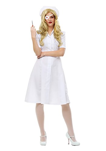 Kill Bill Elle Driver Nurse Womens Costume (Elle Driver Costume)