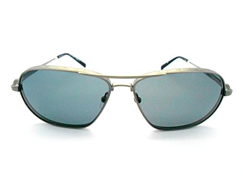 Matsuda M3028 Aviator Style Polarized Sunglasses Antique Gold