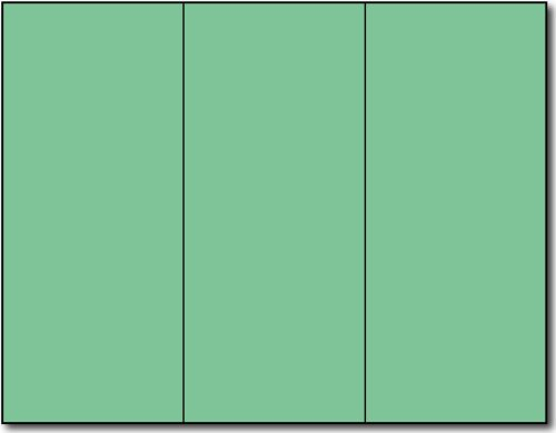 Green Tri-fold Brochures - 250 Brochures by Desktop Publishing Supplies, Inc.