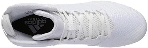 adidas Männer Freak X Carbon Mid Fußballschuh Weiß / Weiß / Weiß