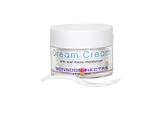 Monsoon Nectar Dream Cream Anti-Scar Micro-Moisturizer. For Wrinkles, Fine Lines, Dark Circles, Bags, Puffiness...